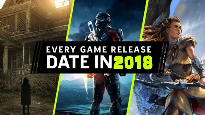 games in 2018
