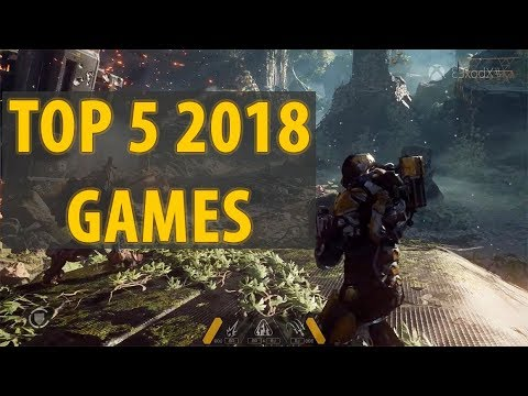 Top 5 Games Coming In 2018