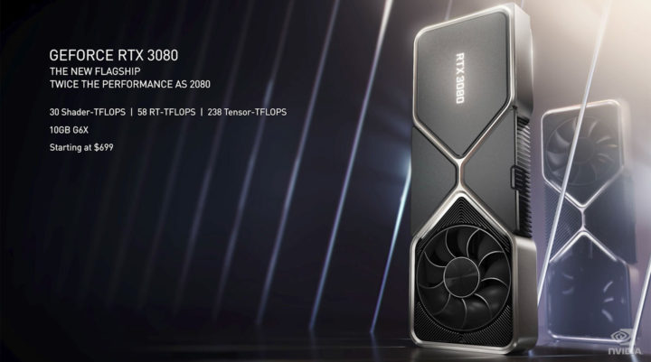 Nvidia Geforce RTX 3080 Specs