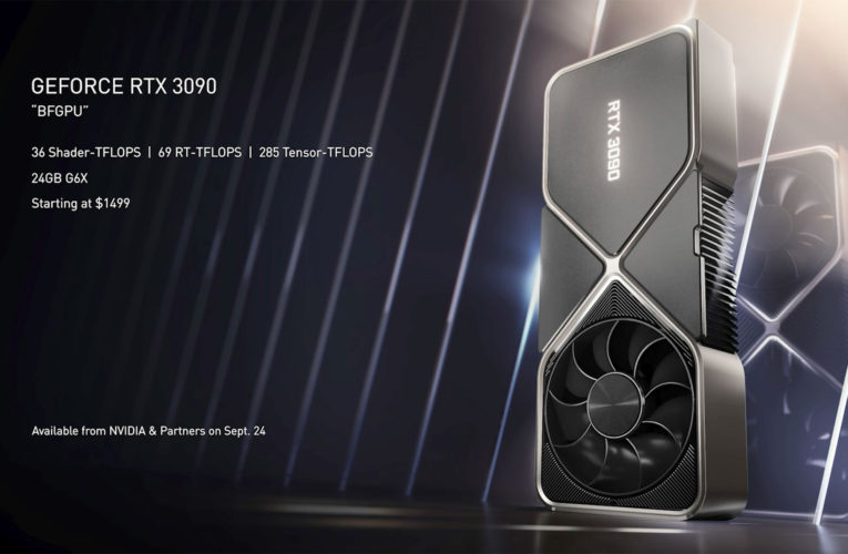 Nvidia Geforce RTX 3090 Specs